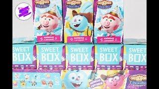 "Смешарики ""Дежавю"". Свит бокс(Sweet Box). Распаковка целого блока."