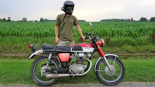 Saving a Barn Find Honda CB350 Motorcycle