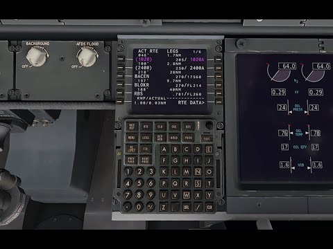 Programming the ZIBO 737 FMS (detailed)