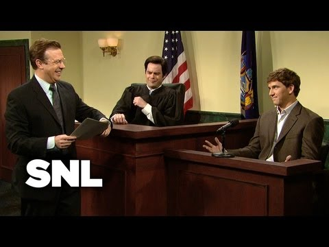 Embarrassing Text Message Evidence Proves a Man's Innocence - SNL