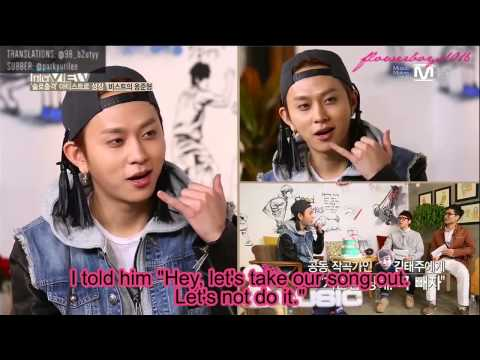 [ENG SUB-HD] 140107 Mnet 'THE MUSIC' Junhyung Interview
