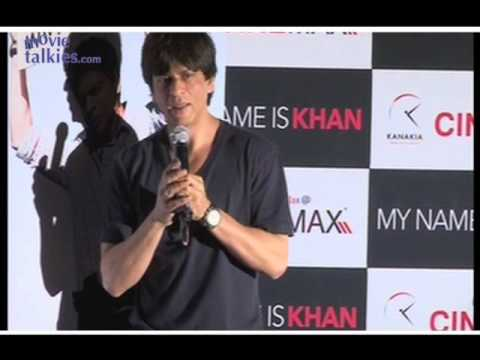 SRK: 'My film' MNIK' appeals to the goodness in every human being'