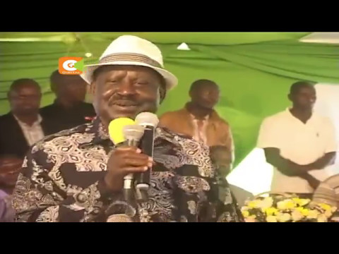 Odinga returns from Israel, South Africa