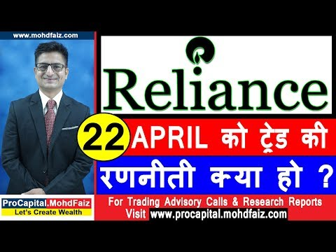 RELIANCE STOCK ANALYSIS | 22 APRIL की रणनीती | Reliance Q 4 results 2019 | Reliance Stock Price