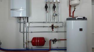 Отопление водоснабжение частного дома