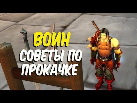 ПРОКАЧКА ВОИНА в World of Warcraft Classic