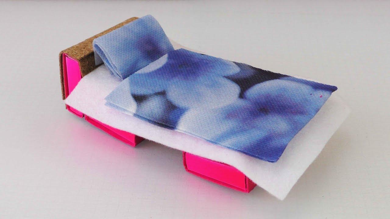 Mbel selber basteln  Betten fr Puppen selber machen