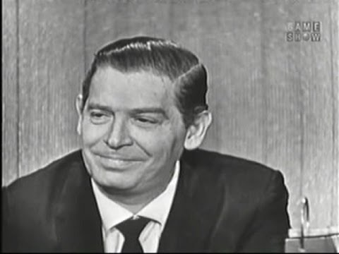 What's My Line?  Milton Berle; Martin Gabel panel Feb 16, 1958
