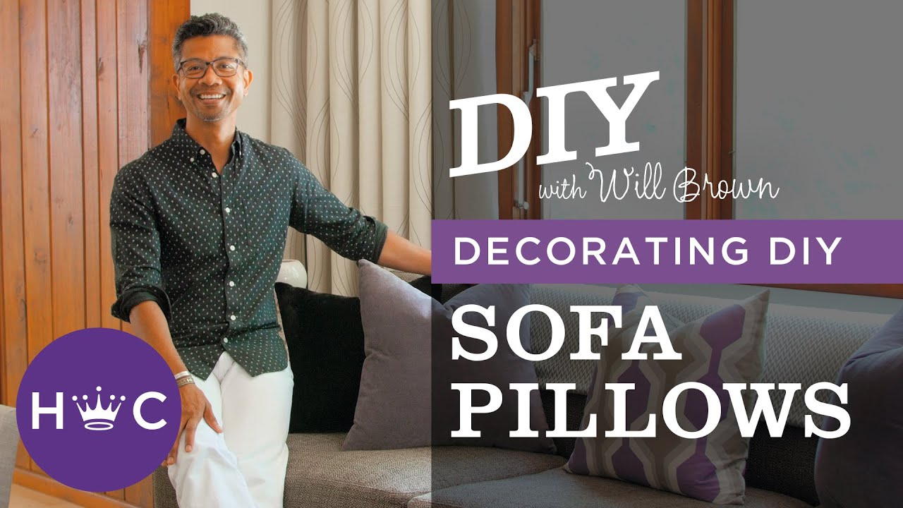 Decorating With Pillows how to decorate with pillows - youtube