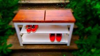 ДОЛГОЖДАННАЯ ПОЛКА ПОД ОБУВЬ(ВСЕМ ПРИВЕТ!!!! Это видео о том ,как можно сделать для дома полку под обувь. ПРОСТЕНЬКУЮ ПОЛОЧКУ ДЛЯ ОБУВИ ., 2016-09-28T06:35:45.000Z)