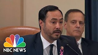 Rep. Joaquin Castro Questions Legality Of Withholding Aid To Ukraine | NBC News
