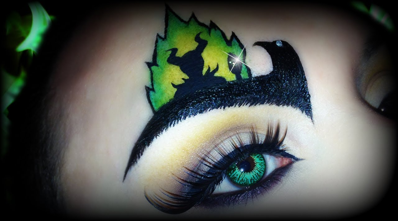 Disney Maleficent Makeup Tutorial Ft Glittergirlc