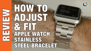 Apple Watch - Adjusting & Fitting Budget JETech Stainless Steel Bracelet