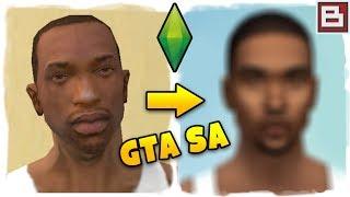 GTA San Andreas в SIMS 4 - СОЗДАЛ СИДЖЕЯ