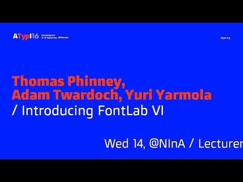 Introducing FontLab VI