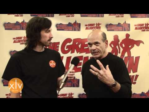 WXLV LIVE  Johnny Gothic Interview with Robert Picardo  1