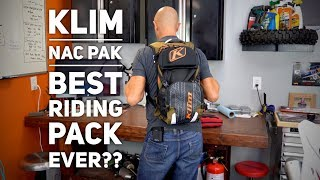 Best Riding Pack Yet!!   Updated Klim Nac Pak
