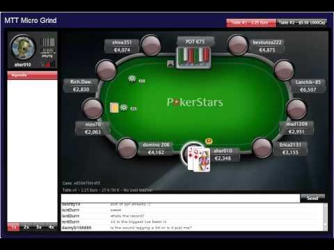 MTT Micro Grind – Poker School Online  Learn Poker Strategy, Odds and Tells