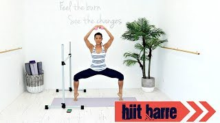 INTERVAL WORKOUT HIIT WORKOUT BARRE WORKOUT - BARLATES BODY BLITZ HIIT Barre workout
