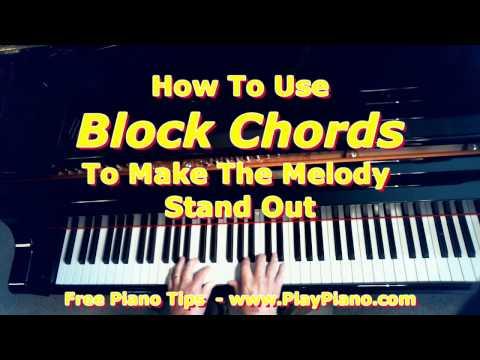 Block Chords on