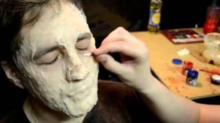 Зомбо-грим на Хеллоуин в домашних условиях (Halloween Zombie Make-up lesson)
