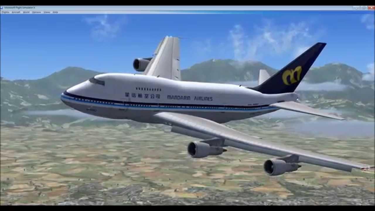 華信航空FSX - YouTube