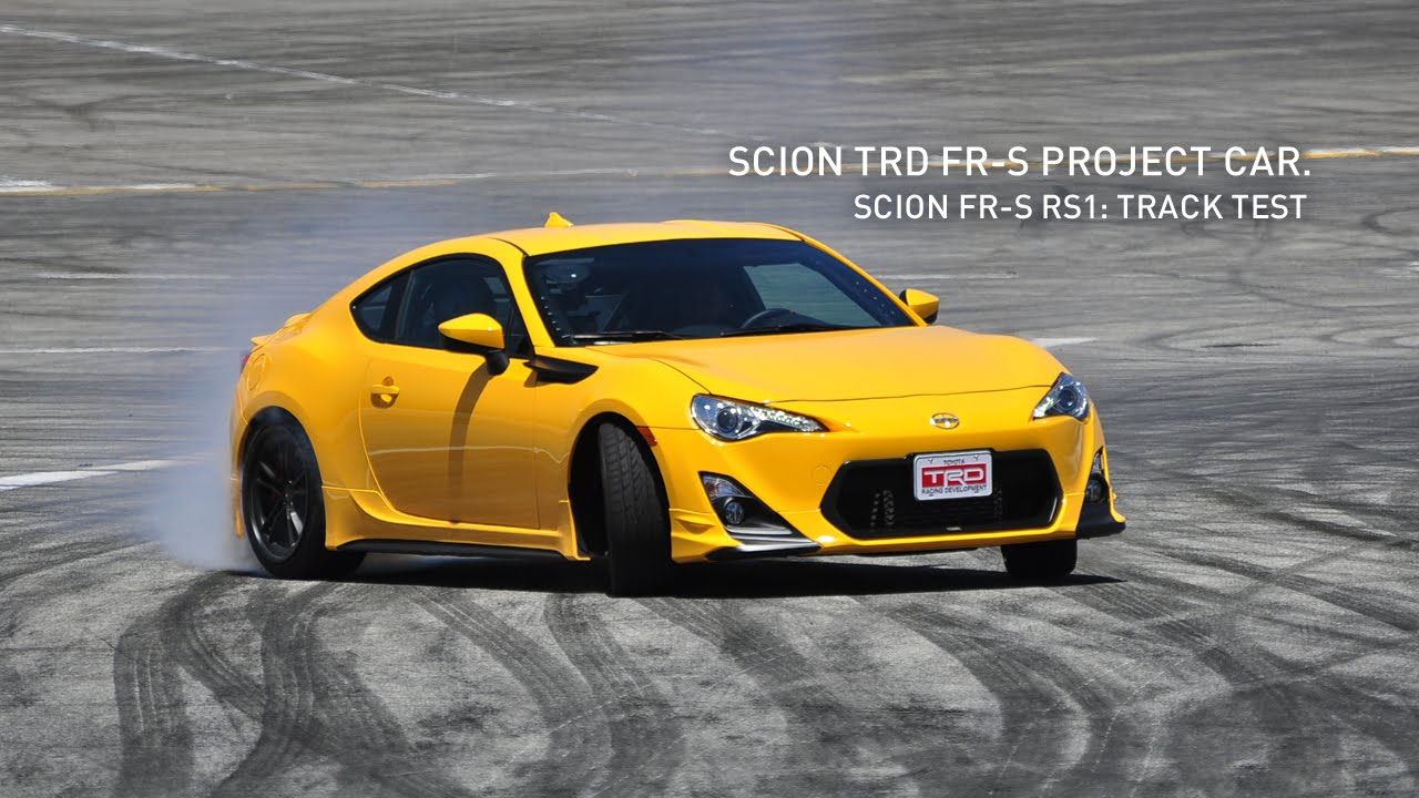 Scion Fr S Rs 1 0 Track Test With Ken Gushi Scion Trd Fr S