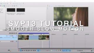 Sony Vegas 13 Tutorial   Smooth Slow Motion   W/o Twixtor And W/ Twixtor
