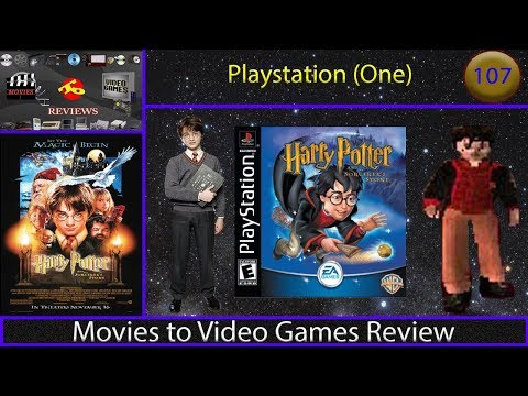 Movies to Video Games Review - Harry Potter and the Sorcerer's Stone (PS1)