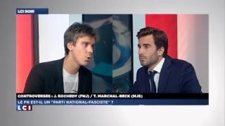 FNJ : Julien Rochedy débat avec le président des jeunes socialistes sur LCI le 08/10/13