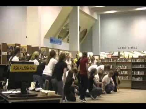 Flash Mob @ the library