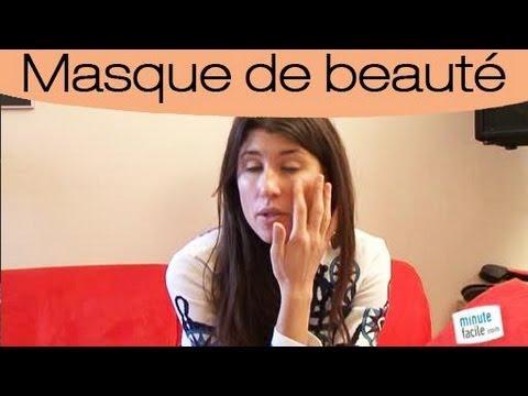 comment fabriquer un masque pour le visage fait maison youtube. Black Bedroom Furniture Sets. Home Design Ideas