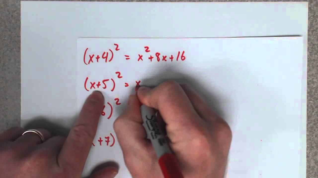 Foil Algebra Shortcut