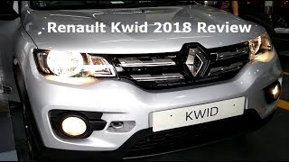 Renault Kwid 2018 Facelift Review. Changes, New Features with Positives, Negatives