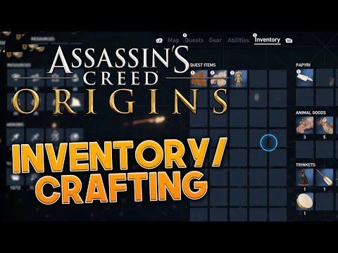 Assassin's Creed Origins | INVENTORY & CRAFTING - Screenshots + Details