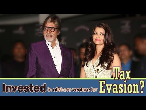 Have Amitabh Bachchan and Aishwarya Rai Bachchan invested in offshore venture to evade taxes?