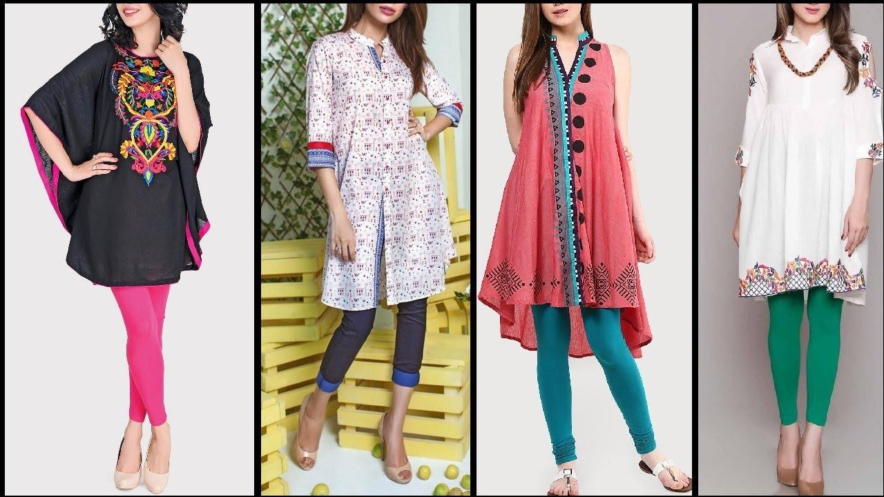 ab8d15e9 Top Beautiful Kurtis / Kurta Designs for Girls / women | ladies Fashionable shirts  2017. Latest New Fashion Trends