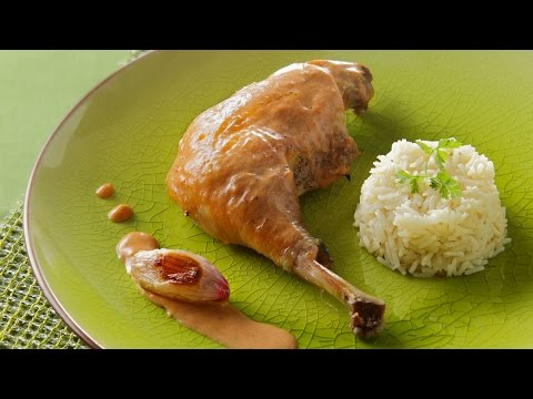poulet-au-vinaigre-et-riz-pilaf---yves-rivoiron-pour-netto