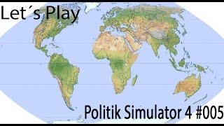 Let´s Play Politik Simulator 4 #005 - in geheimer Mission ( Deutsch/1080P )