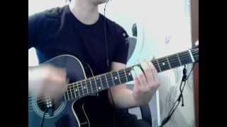 Кабриолет Белая роза кавер на гитаре