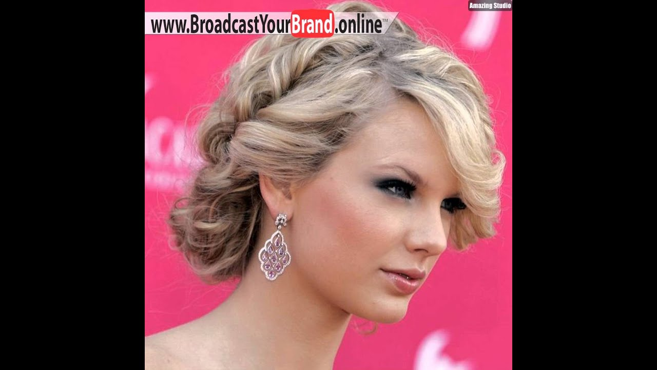 prom hairstyles for short hair 2016 - youtube