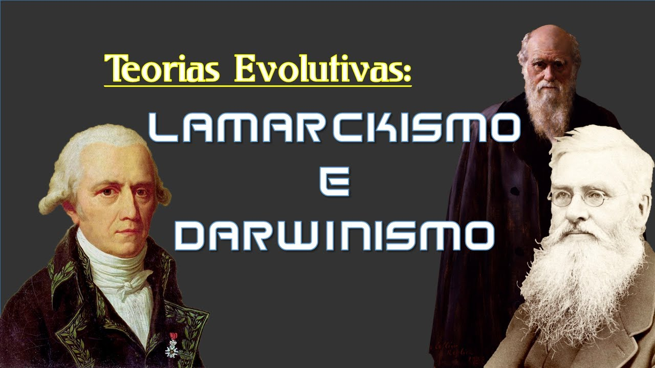 Lamarckismo e Darwinismo - Teorias Evolutivas (Legendado)