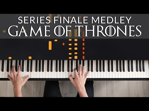 Game of Thrones - Series Finale Medley | Francesco Parrino Piano Cover Tutorial thumbnail