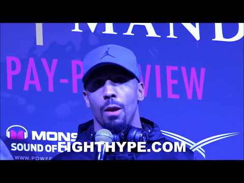 """ANDRE WARD SENDS MESSAGE TO SERGEY KOVALEV AND TEAM: """"NO EXCUSES...MAKE SURE YOU SHOW UP"""""""