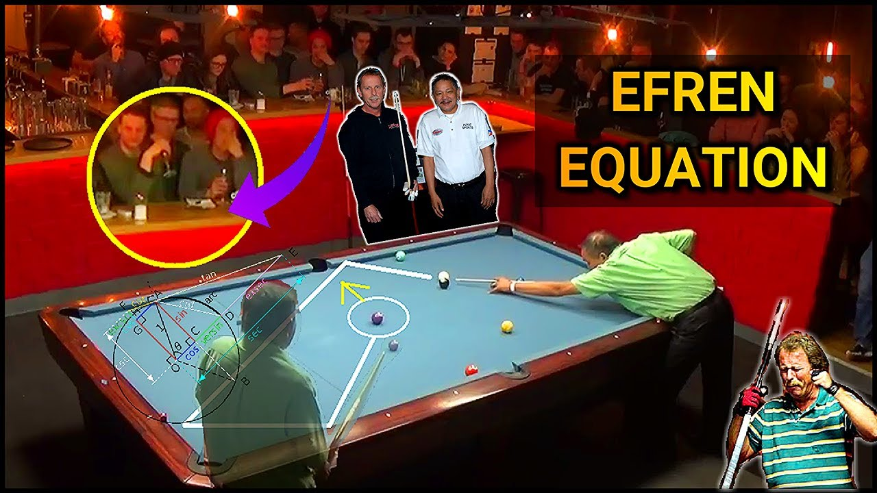 EFREN REYES EQUATION REVEALED | Magician Kicking system