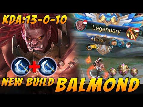NEW Meta Build BALMOND Auto Legendary - Mobile Legends