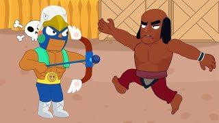 Brawl Stars Animation #22: BO x EL PRIMO x CROW (Parodie)