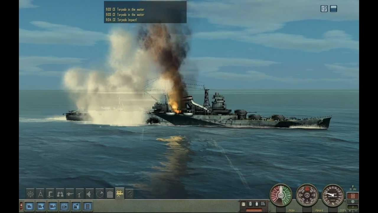 Silent Hunter Iv Manual Torpedo Attack Youtube