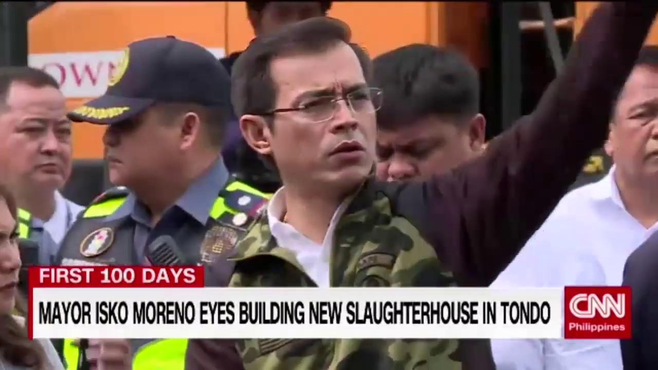 Mayor Isko Moreno eyes building new slaughterhouse in Tondo