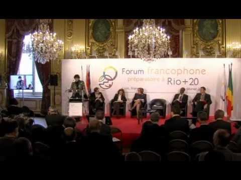 L'économie verte : Point de vue d'un pays du Nord par Mme Dominique DRON